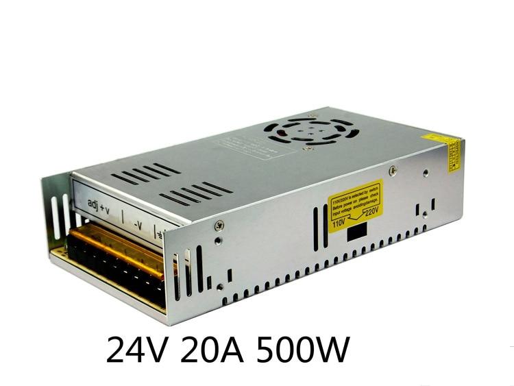 5PCS DC24V 10A 15A 17A 20A 25A 33A 42A 250W 360W 500W 600W 800W 1000W LED Switch Power Supply Driver AC110V/220V Input to DC 24V