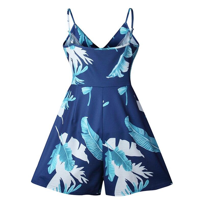 TIGENA 2018 летние комбинезоны Для женщин s комбинезон шорты женские сексуальные спинки Пляж Playsuit боди комбинезоны для Для женщин тела Femme