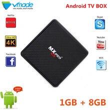 Android 7.0 TV Box Allwinner_H3 1GB RAM 8GB ROM Set Top Box WiFi 100Mbps Bluetooth 4.0 Support 4K H.265 Media Player Set top Box цена и фото