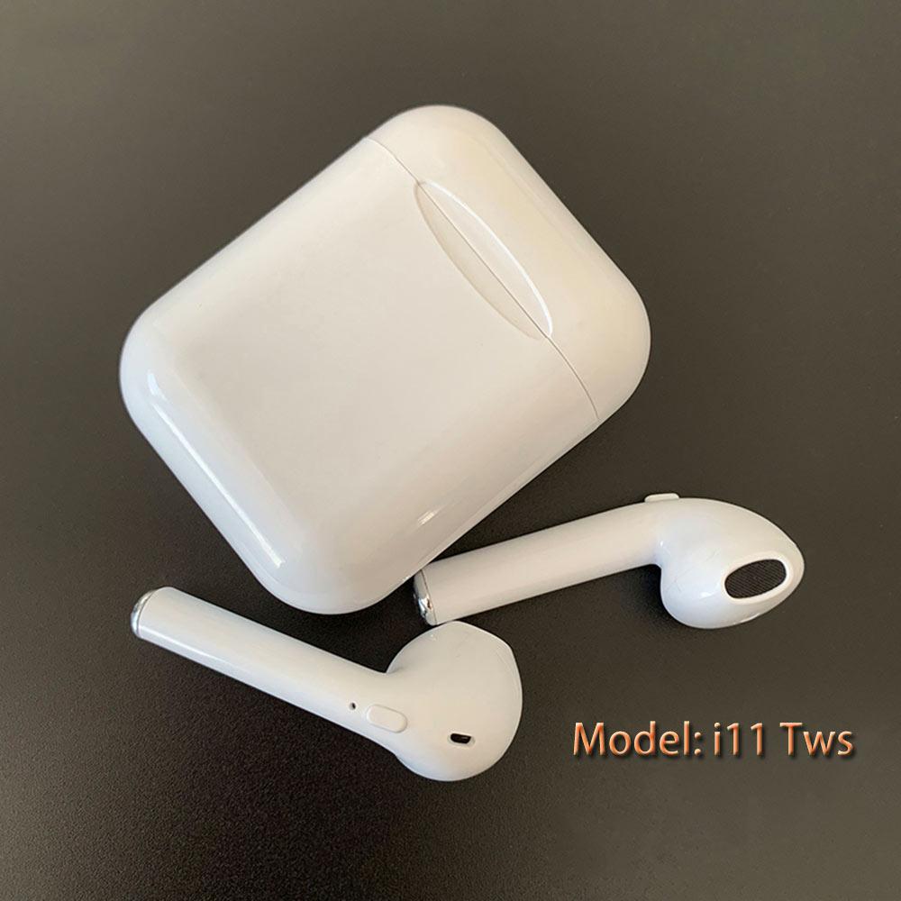 I11 Tws écouteur Bluetooth 5.0 écouteur dans l'oreille Sans Fil écouteurs vente chaude Casque Sans Fil avec boîte de charge nouvelle version écouteurs