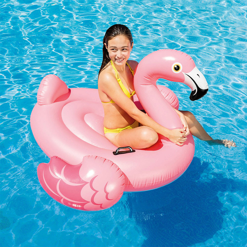 Eoges142CM Giant Inflatable Flamingo Pool Float Toy Inflatable 57558