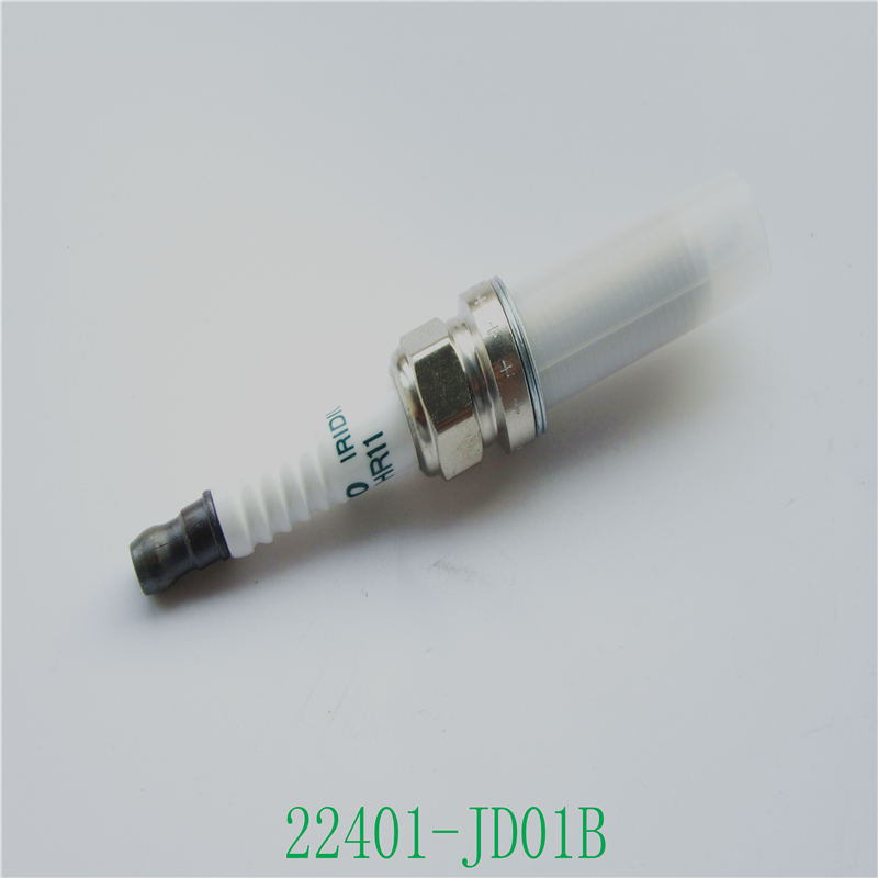 Cube Spark-Plug FXE20HR11 Nissan Iridium 22401-JD01B 10pcs For Altima NV200 OEM