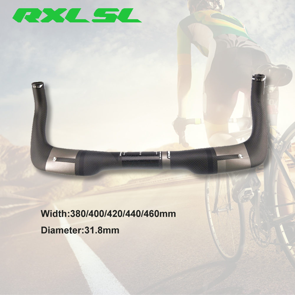 RXL SL Bisiklet Aero TT Gidon 400/420/440mm Yol Triatlon Bullhorn 3 K Mat Gri Karbon Fiber 31.8mm Dinlenme TT BarlarRXL SL Bisiklet Aero TT Gidon 400/420/440mm Yol Triatlon Bullhorn 3 K Mat Gri Karbon Fiber 31.8mm Dinlenme TT Barlar