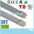 3ft 0.9m T8 18W Led Tubes Light CREE SMD 2835 Super Bright Led Fluorescent Tube Lamp Warm/Natrual/Cold White AC 85-265V