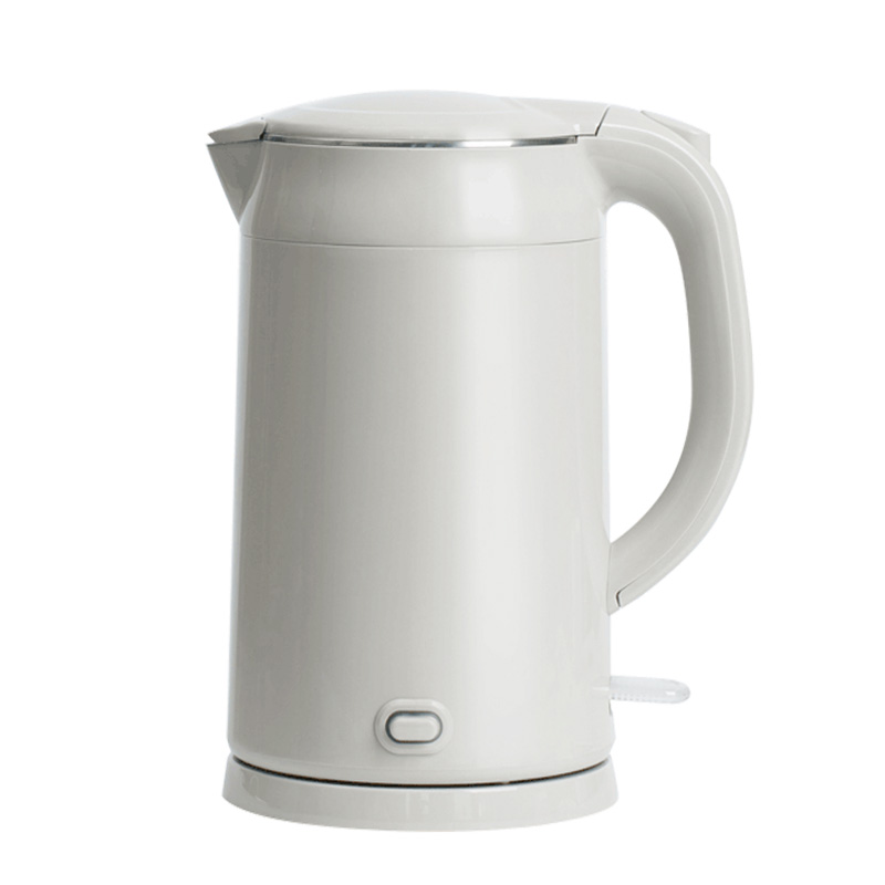 Household Electric Water Kettle 1800W 1.7L Electric Kettle Stainless Steel Auto Power-off Protection Insulation Water Teapot mehofoto christmas tree backdrop fireplace photo background white brick wall photography backdrops for wood floor props 914