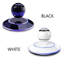 Dpower Magnetic Suspension Levitation Bluetooth Speaker Wireless Stereo Music Loudspeakers Super Bass Hands Free Sound