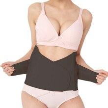 Drawing abdomen waist trainer belt slimming thin belt breathable body shaper fat burning cummerbund control corset