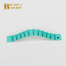 BES Wholesale Mink Lash Extensions Makeup Pre Made Volume Fans 1 Tray Short Stem Mink Natural False Eyelashes Volume Fans Lashes big eye s secret professional premade volume lash extensions individual eye lashes pre made fans false eyelashes