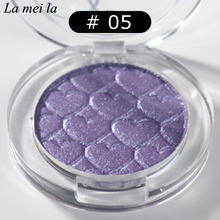 2016 Hot Sale New Makeup Super Shock Durable Waterproof Monochromatic Eye Shadow 12 Colors E5