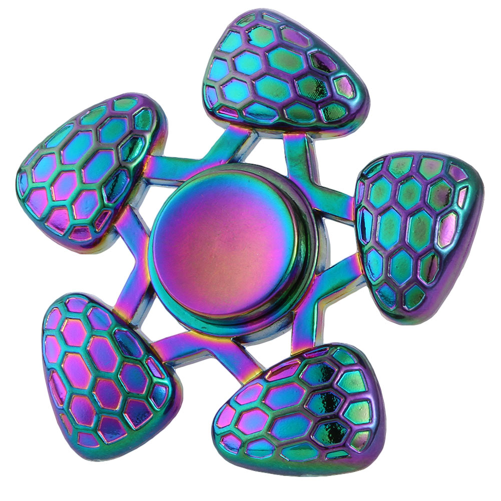 New Anti Stress Fidget Spinner Metal Colorful EDC Toys Hands Spinner For Autism and ADHD Educational