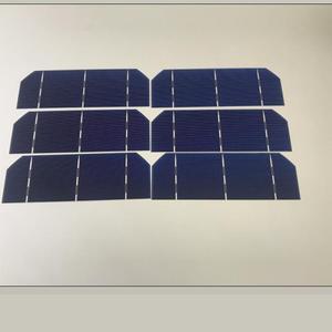 Image 5 - ALLMEJORES Diy zonnepaneel kits 50 stks Monokristallijn 1.6 w 0.5 v zonnecellen 156mm * 52mm met genoeg tabben draad rail draad