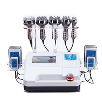 Highest sales ! 6in1 40K Ultrasonic Cavitation Vacuum Suction Body Slimming Beauty Machine CE