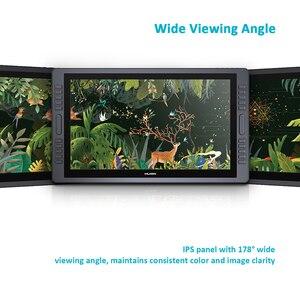 Image 4 - HUION KAMVAS GT 221 Pro 8192 Levels Pen Tablet Monitor  IPS LCD HD Drawing Pen Display    21.5 inch