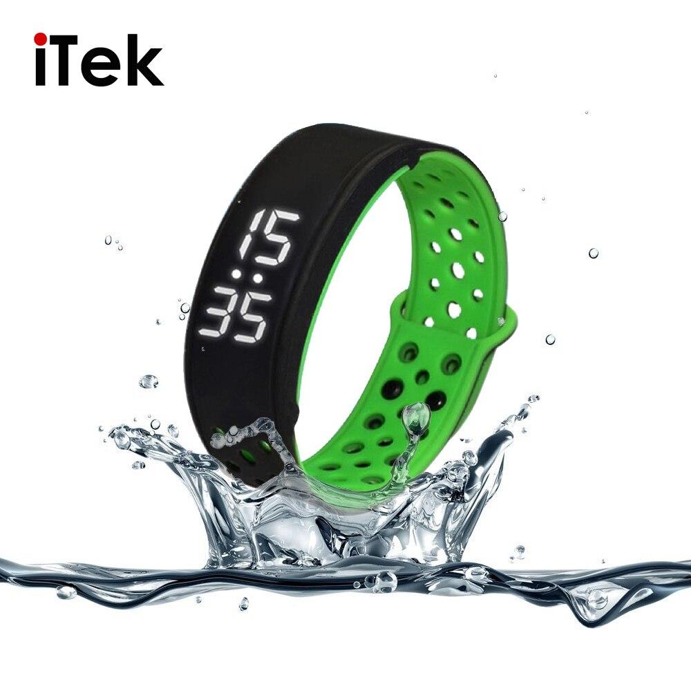 IP67 Waterproof W9 Smart Bracelet Bangle Smart Wristband Sport Smartwatch Health