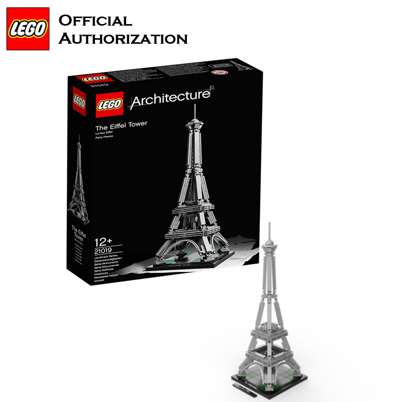 Lego Architecture Series 321pcs Building Blocks Toys The Eiffel Tower Building Toys a Tourist Souvenir For