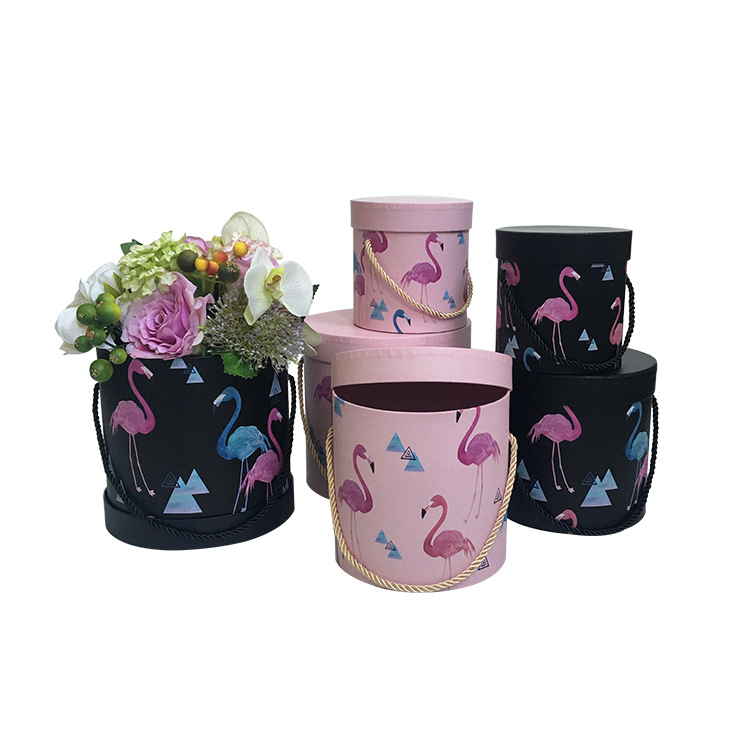 Aliexpress.com : Buy 3PCS/set Flamingo round flower gift
