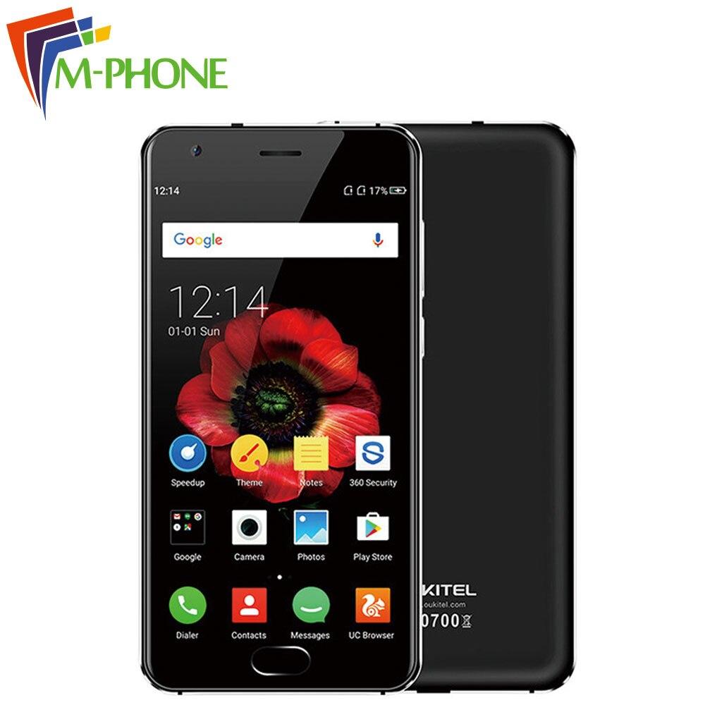 Original OUKITEL K4000 plus Mobile Phone 5 0 Inch 4G 4100mAh Android 6 0 MT6737 Quad