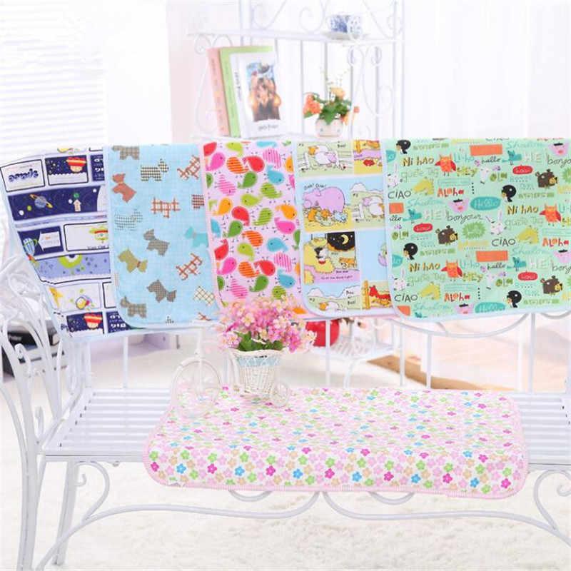 Акция, 30x45 см, водонепроницаемый коврик для детской кровати с мочой, многоразовые пеленки для путешествий, домашняя накладка, сменные накладки, 15 стилей