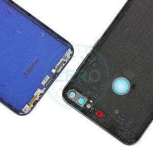 Image 5 - Oryginał dla Huawei Y7 Prime 2018 tylna pokrywa baterii tylna obudowa dla Huawei Nova 2 Lite wymiana baterii części zamiennych