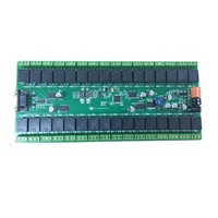 Serial port/485 port 32 way integrated board intelligent switch control card relay module relay control board