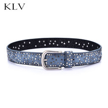 Fashion Women Ladies Belt Punk Rivet Belts Waist Accessories Skinny Exquisite Wide Leather Waistband