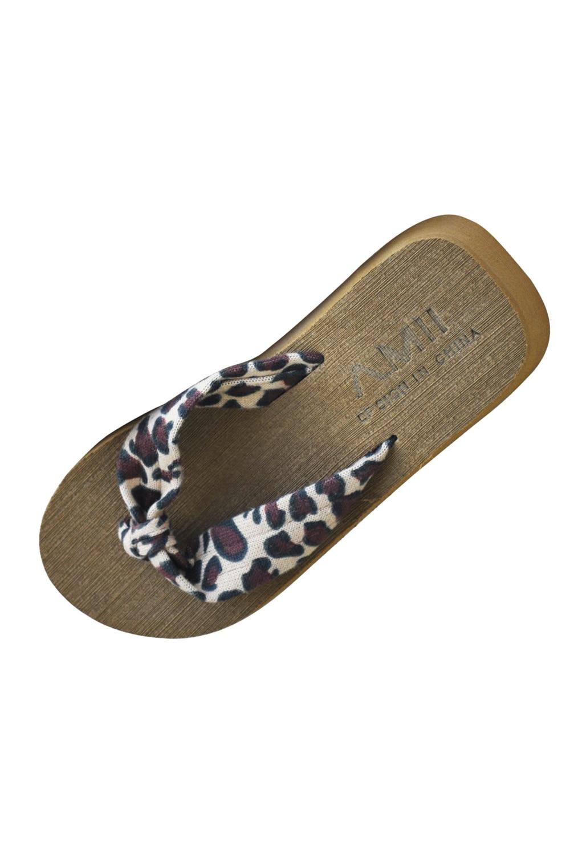 VSEN Hot Japanese Flip Flops Women Sandals Shoes beach slippers summer Gilrs Shoes Sandals leopard