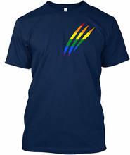 New Fashion Short-Sleeve T Shirts Short Lgbt Gay Lesbian Crew Neck 2018 Tee For Men