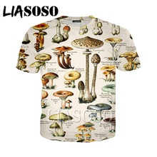96f984211806 LIASOSO Women homme men anime mushroom hoodies t-shirt funny t shirts 3D  print
