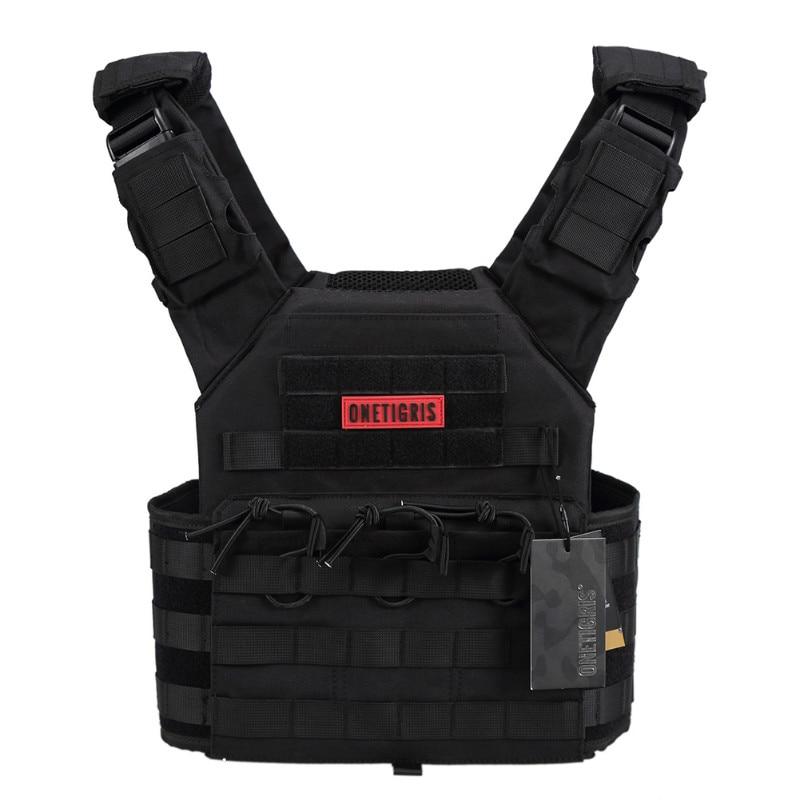 OneTigris Outdoor Kamizelka CS Sprzęt wojskowy 500D Nylon Cloth JPC - Ubrania sportowe i akcesoria - Zdjęcie 5