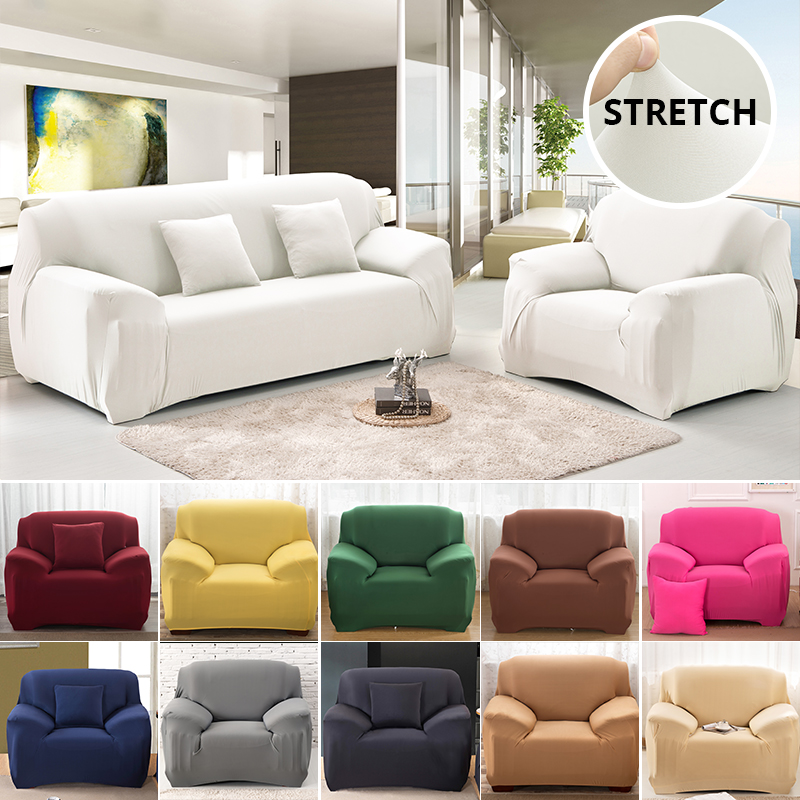 Elastic Sofa Cover For Living Room Universal Case For Sofa Home Sectional Couch Covers Spandex Stretch Sofa Cover 1/2/3/4 Seater