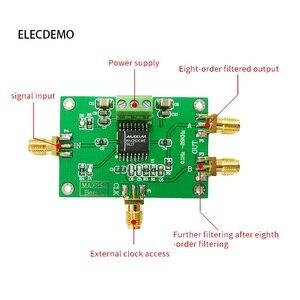 Image 2 - MAX292 modulo 8th order Filtro passa Basso Bessel Filtro Filtro di Profondità Orologio Regola di Frequenza del Filtro