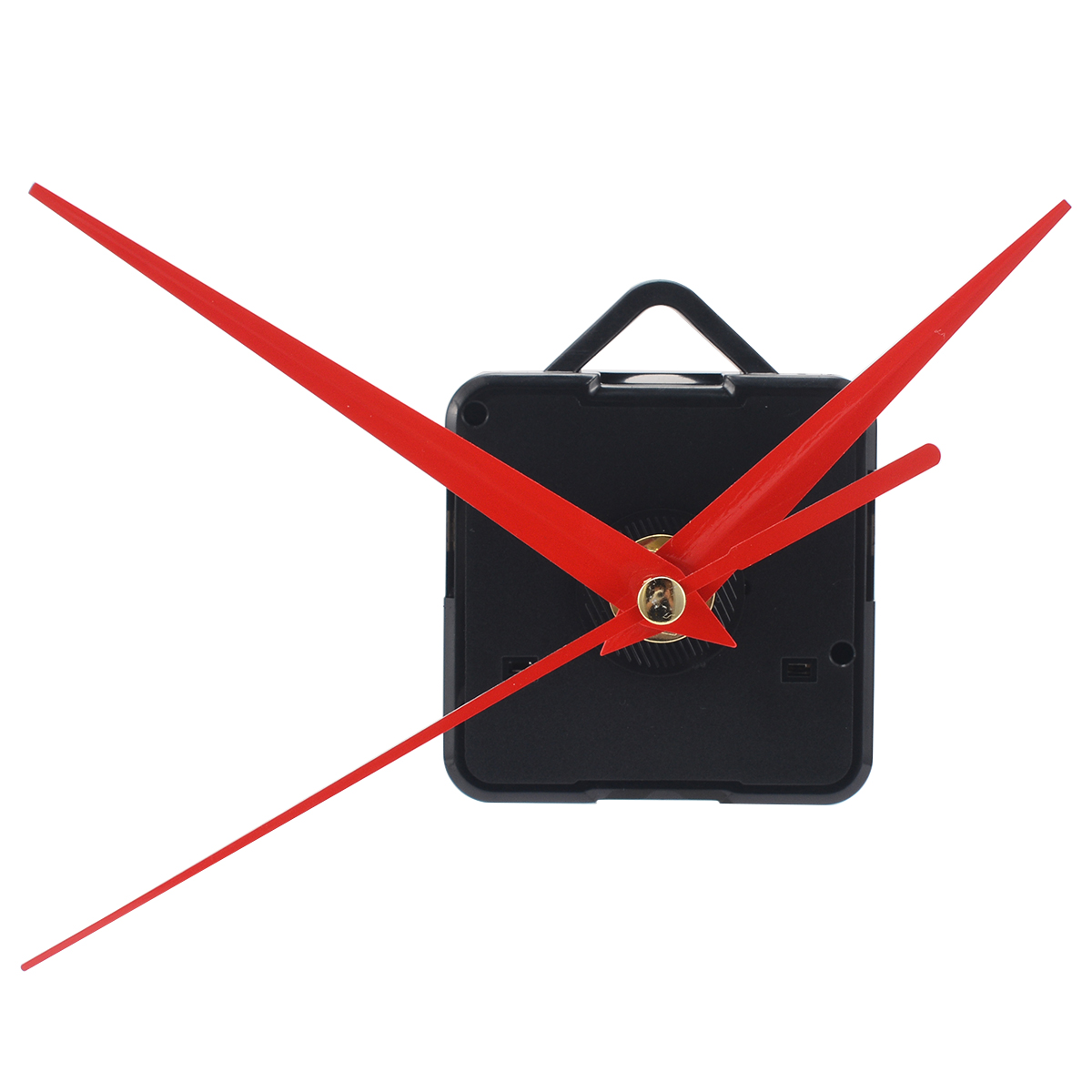 Red Quartz Clock Movement Mechanism Hanging Quartz Watch Wall Clock Movement Mechanism Parts Repair Replacement Tools MAYITR