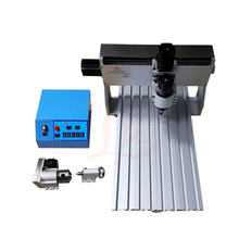 cnc router 3040Z 500W DC spindle PCB engraving machine with cutter collet clamp vise drilling kits ly cnc router 3040z d 500w spindle engraving machine with the limit switch mini cnc milling machine