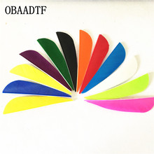 50pcs High Quality 3 Water Drop Shape Archery Traditional Feather Arrow Fletching Turkey Feathers bow Right Wing Bow