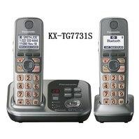 2 Słuchawek KX-TG7731S Cyfrowy bezprzewodowy telefon DECT 6.0 Link do poprzez Bluetooth Bezprzewodowy telefon Komórkowy z systemu Sekretarka