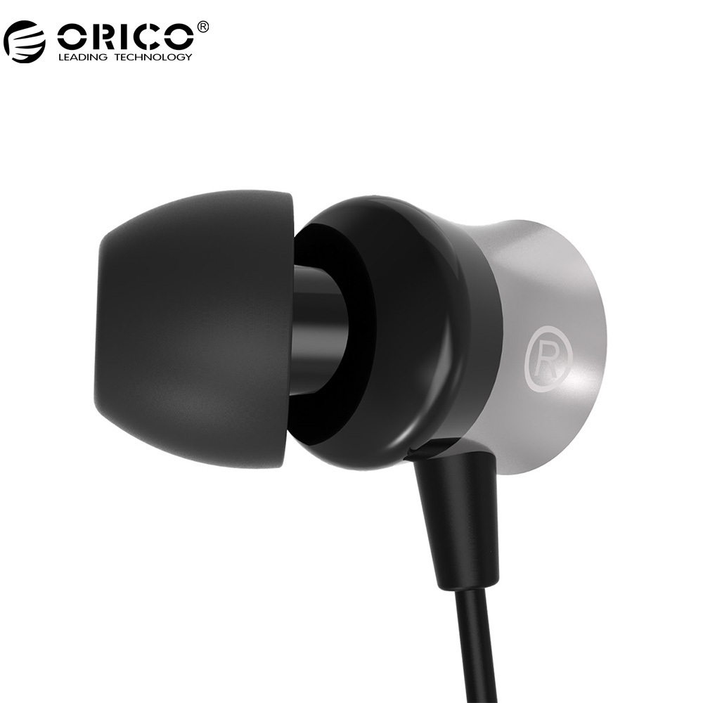 ORICO IEM-01 In-Ear Earphone With Control Button Widely Compatible Headset with Mic For Phone Call Listen to Music ukingmei uk 2050 wireless in ear monitor system sr 2050 iem personal in ear stage monitoring 2 transmitter 2 receivers