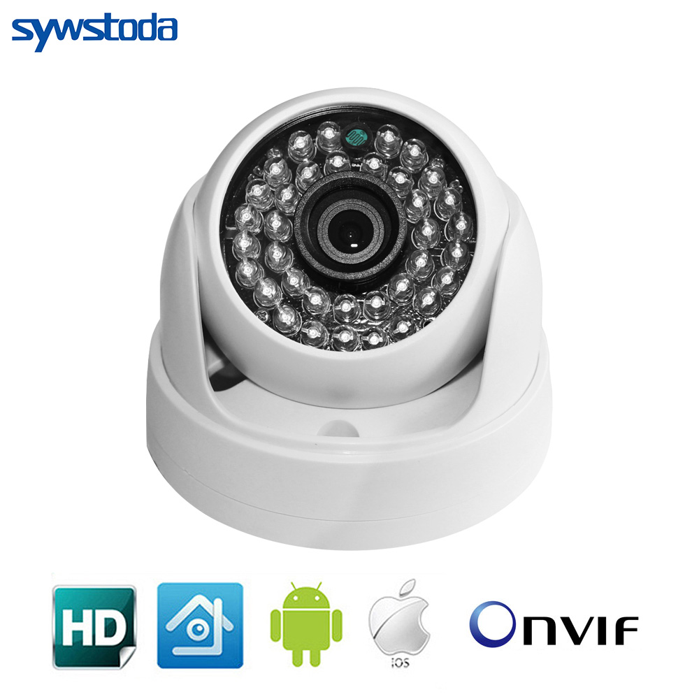 Mini IP Camera 720P 960P 1080P Security HD Network CCTV Mega Pixel Indoor Network IP Dome Camera ONVIF H.264 Free Shipping jsa ip camera 960p 1080p security hd network cctv camera mega pixel indoor network ipc dome onvif h 264 h 265