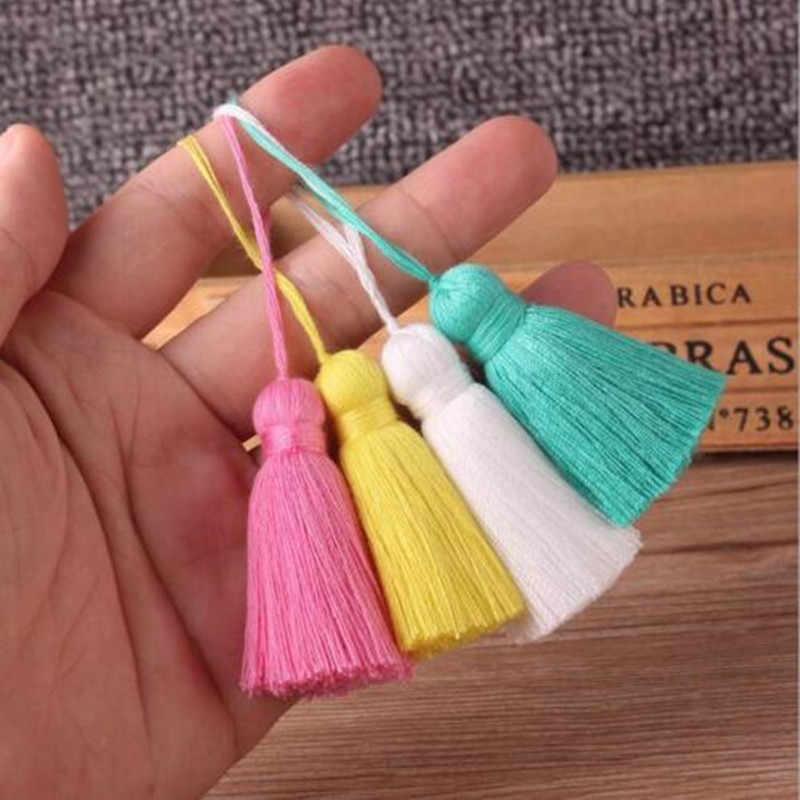 Detail Feedback Questions About 1pcs Simple Cotton Tassel Pendant