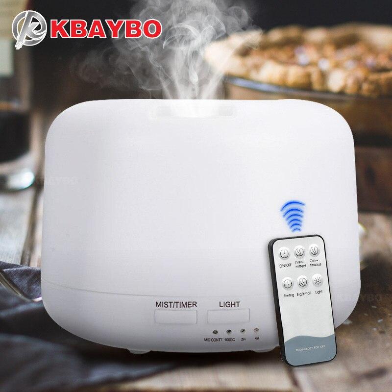 KBAYBO 300 ml Controle Remoto Umidificador de Ar Ultra Aroma Elétrica Difusor de Aroma de Óleo Essencial de Aromaterapia