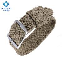 Nylon Watchbands For Rolex Daytona Green Ghost Watch NATO Watch Strap 20mm Men Nylon Watch Strap