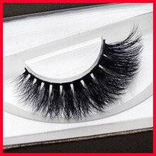Mink Lashes Black Natural Thick Mink Eyelash Soft Long Handmade Makeup Fake Eye Lashes Extension with magetic box
