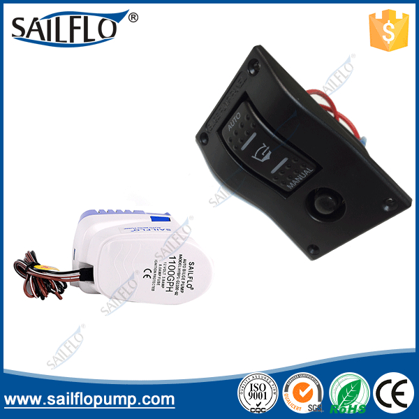 Sailflo 12V 1100GPH automatic bilge pump 1P HY AB1 4 12V24V on off marine CAR caring rocker switch small panel in Pumps from Home Improvement
