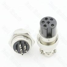 цена на 6 Pin Air Connector GX16-6P