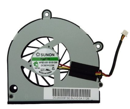 SSEA Novo ventilador Portátil para Toshiba A655 A655D A660 A660D A665D A665 L675 L670 L670D P750 P755 P750D P755D P/N MF60120V1-B100-G99