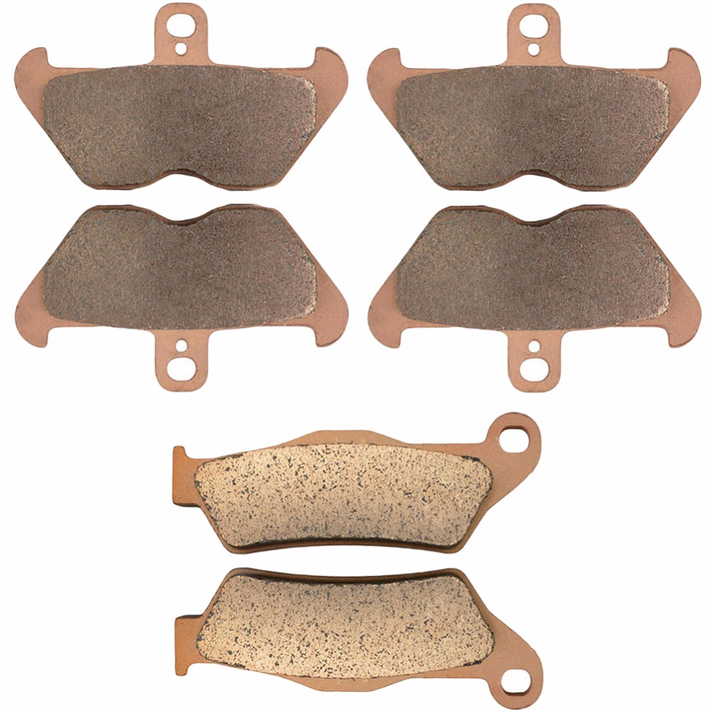 Motorcycle Front and Rear Brake Pads for BMW R1100GS R1100R R 1100 GS / R 1993-2001 Sintered Copper Motobike disks sintered copper motobike disks fa379 motorcycle brake pads for kawasaki z 1000 sx zr 1000 gbf 2011