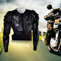 Motorcycle Body Armor Protective Jacket Black Professional Body Protector Armor Motocross Protective Gear Racing Motorcycle Moto
