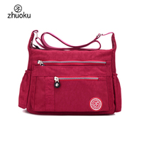 Women S Messenger Bags Ladies Nylon Handbag Travel Casual Original Bag Shoulder Female High Quality Large