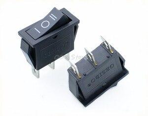 Image 2 - Interrupteur à bascule, 5 pièces x AC 15a 250V /20A 125V, SPDT KCD3, 3 positions pour bateau noir