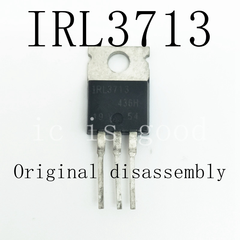 30PCS IRL3713 IRF3713 IRL3713 TO 220 Original disassembly
