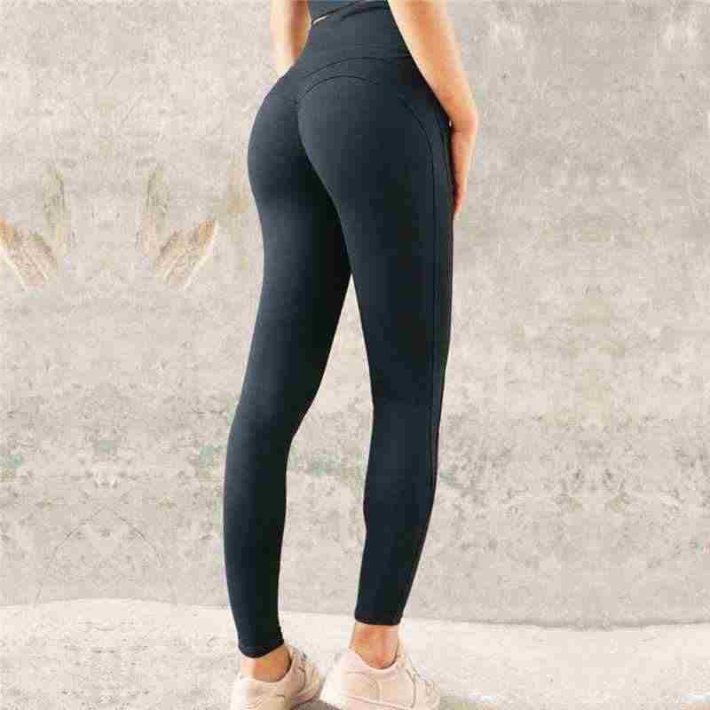 81acc6052d5dba ... Sports Fitness Leggings Butt Lifting Leggings Sportswear Women Gym Yoga  Pants Workout Running Tights Push Up ...